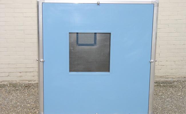 Cabina afona per gruppo ventilatore