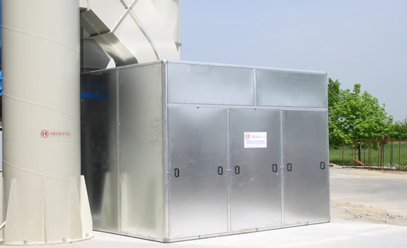Cabina afona per ventilatore